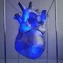 The Heart (blue). Walery Martynchyk