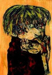 19- Duende Tímido. Retratos Expresionistas.. Carmen Luna
