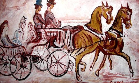 Horse chariot. Anand Anand Manchiraju