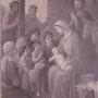 Étienne Dezambre (1859-1933 ou 1935 ? ) : Ste Famille ou l'Adoration du Petit.. Historien d'art, Archéologue; Chercheur Free-L.