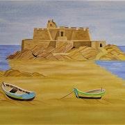 Le fort national (Saint Malo). Gerard Flohic
