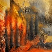 Au temple de la diablesse. Dalhia