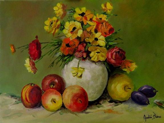 Fruits et fleurs. André Blanc Andre Blanc