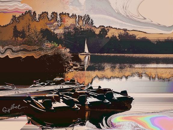 Le Lac d'Ailette. Jean- Paul Lecoeuvre - Gipéhel Gipéhel