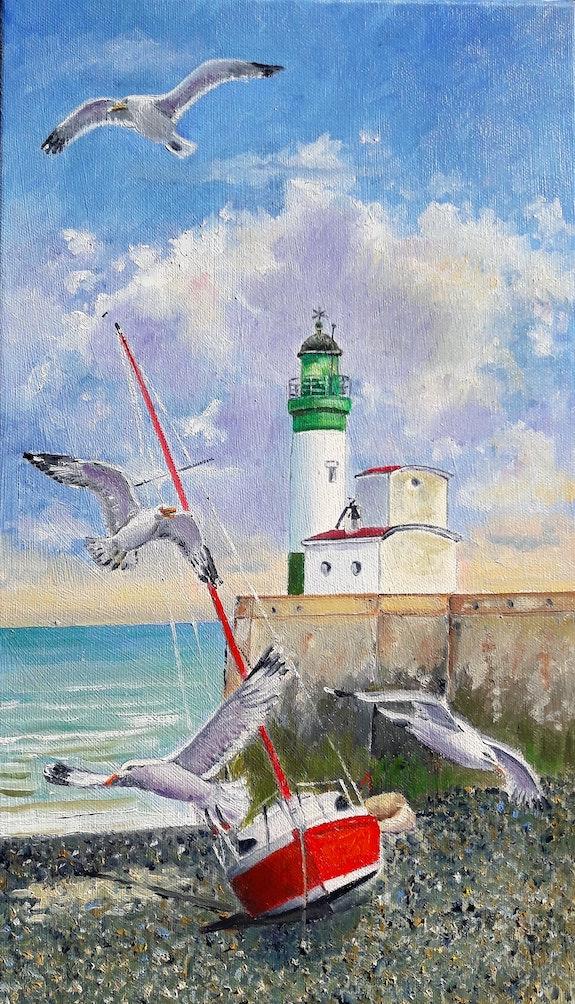 Le phare. Alai Dervillez Alain Dervillez