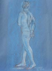 Blue Nude 2. Anne- Marie Kelly