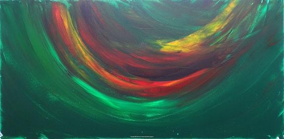 Inexplicable démesure 2020-1163. © Sarah Leseigneur Artiste Peintre Sarah Leseigneur