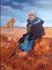 «La bergère» de Pissarro. Wallace Waide