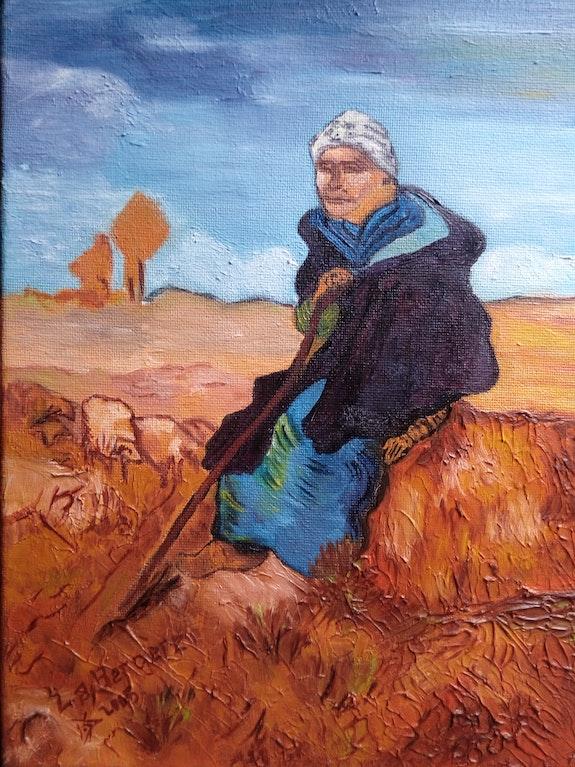 «La bergère» de Pissarro. Wallace Waide Wallace Waide