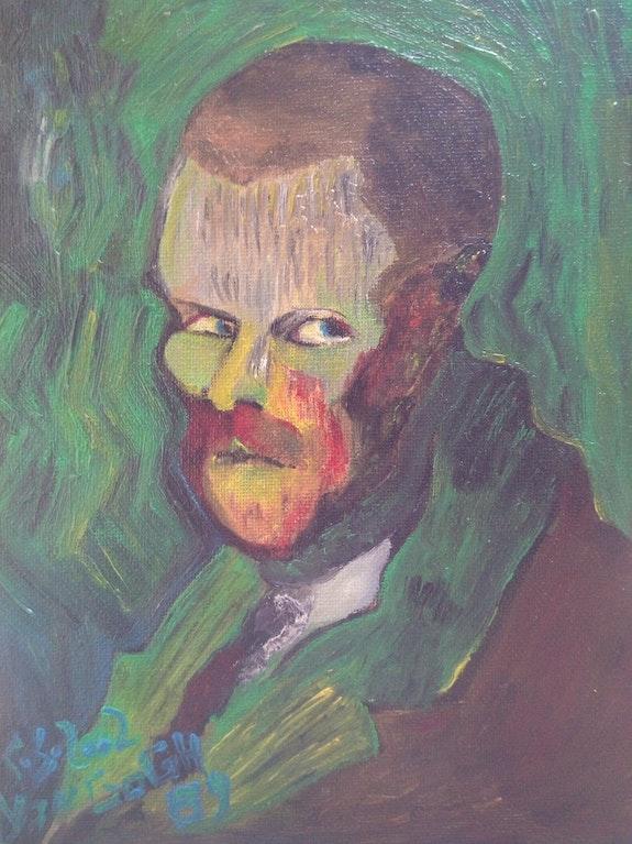 Portrait de Van Gogh, 1889.. Wallace Waide Wallace Waide