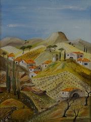 Village des hautes Corbières Département de l'Aude. Daniel. C