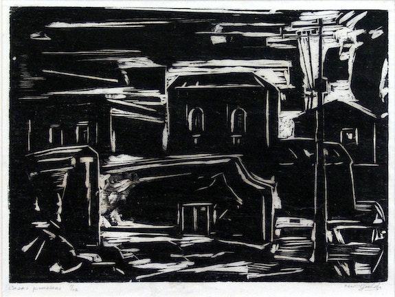Casas Possessas. Oswaldo Goeldi Projeto Goeldi