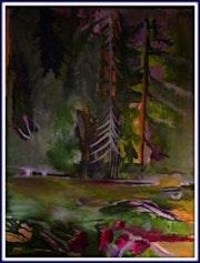 Queens Park Canadian Landscape. Karen Colville