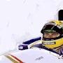 Dessin d Ayrton Senna. P Fort