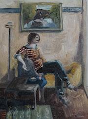 Daniel au salon. Eric Bertrand