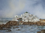 Vue mer Sidi abderrahmane. Oussama Asri