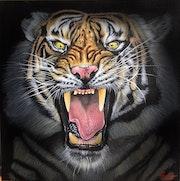 Tiger whisper. Nicolae Doru-Andrei