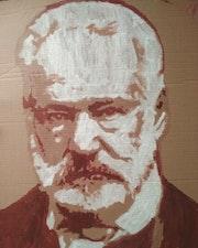 Portrait de Victor Hugo. Mediki