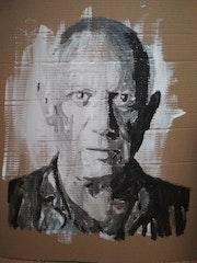 Portrait Pablo Picasso. Mediki
