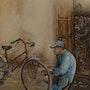 Réparateur vélo. Oussama Asri