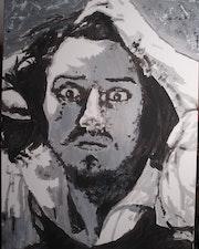 Le désespéré sur toile. Mediki