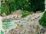 Les gorges de la trstonica. Catherine Souet-Bottiau