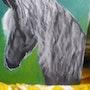 Freisian Stallion. D Gaffney