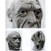 Cabeza de Picasso. Lydia Casillas