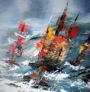 Les bateaux de la marine. Marie-Claire Gé