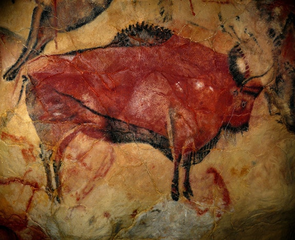 Bisonte de Altamira. Desconocido Carlos Pallares