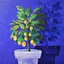 Blue/lemon tree.