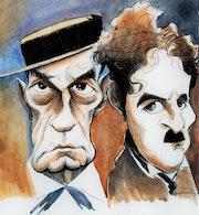 «Buster Keaton - Charles Chaplin». Dela