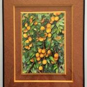 Des fruits dans l'arbre. Mariraff