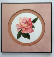 Une rose. Mariraff