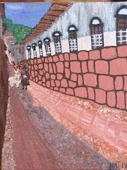 La rue Hatum Rumiyoc de l'ancien nombril du monde (Cuzco-Pérou).
