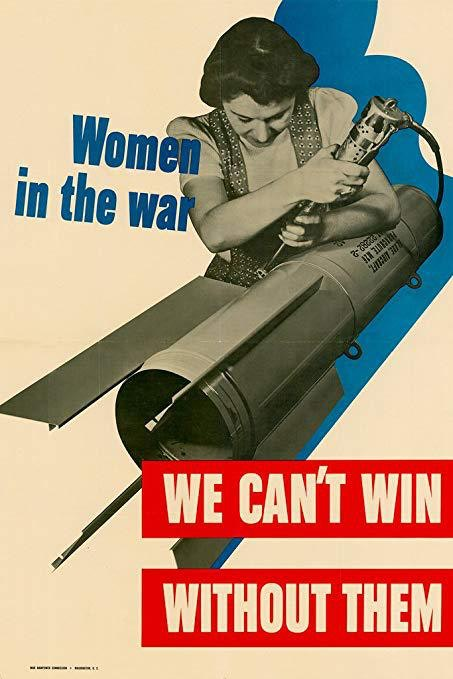 Women in the war We can't win without them. Unknow Jules Lauriat