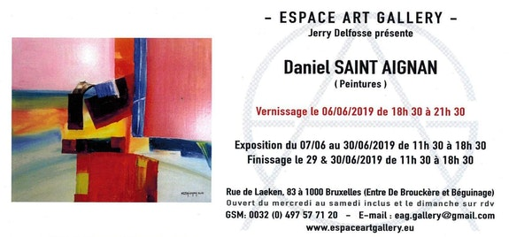 Invitation.  Daniel Saint Aignan