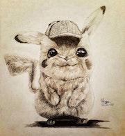 Detectivr Pikachu. Hugo Espino