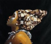 Mujer africana. Antonio Abril