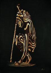 African Warrior.