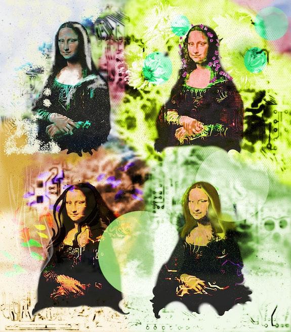 La joconde et les quatre saisons. Myriam Ferrero Paingt Ferrokaro