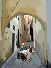 2020-07-14 Maroc - Fès. Michel Normand