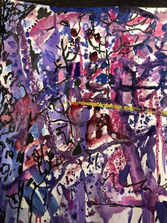 Purple forest. Juliya Lamskaya Juliya Lamskaya