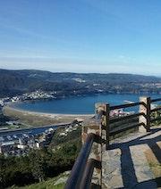 Mirador en area receativa San Roque en Vivero, Lugo (Galicia). M. Pilar