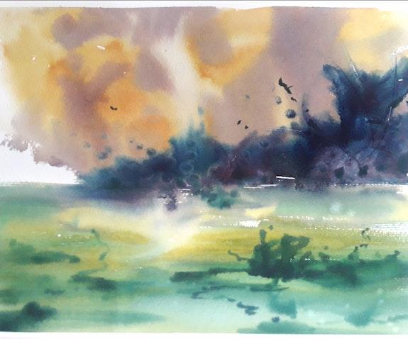 Imaginary landscape. Manuel Puente (Momo) Manuel Puente