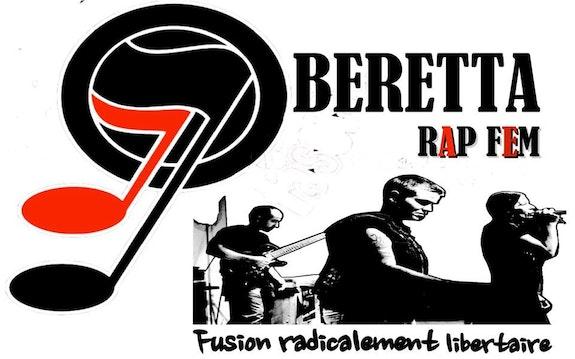 Beretta rap fem sticker1.  Berretta Rapfem