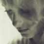 Portrait en noir et blanc. Henri Bakary