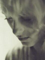 Portrait en noir et blanc.