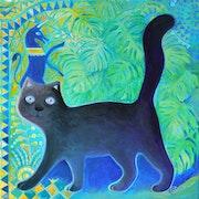 Chat noire.