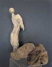 La méditation de l'ange. Michel Gouaud